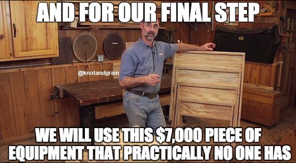 Our 10 Favorite Woodworking Memes – Knot & Grain